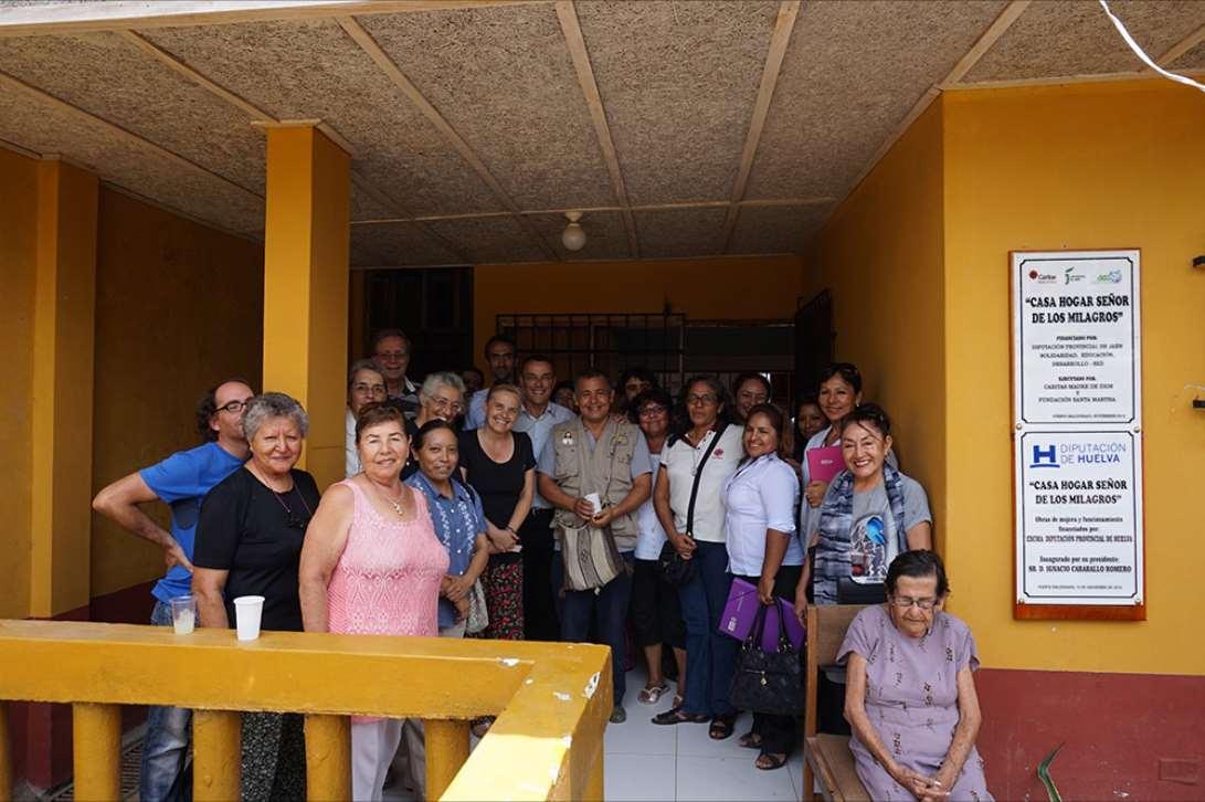 Casa de Acogida Ana Almendroen Puerto Maldonado, ciudad del Departamento de Madre de Dios, Perú