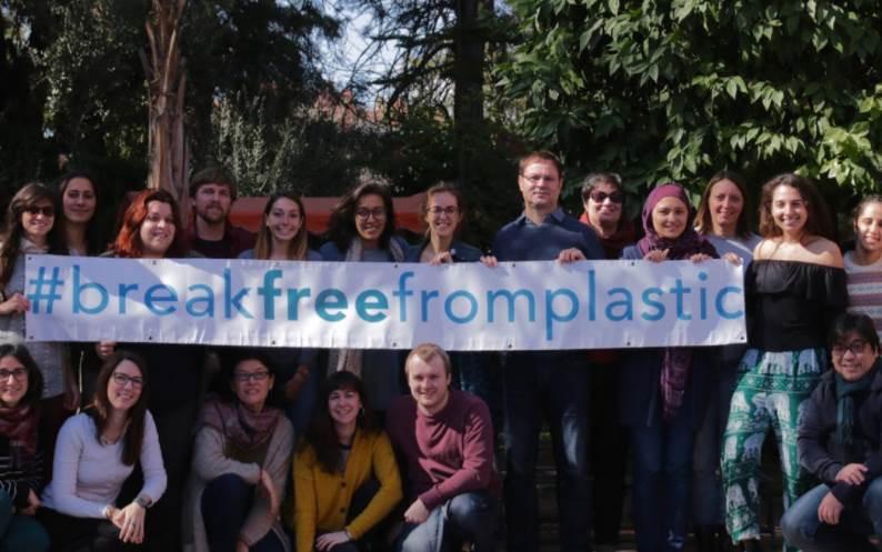 Las entidades ecologistas que han presentado las seis propuestas concretas para evitar la contaminación por plásticos pertenecen al movimiento Break Free from Plastic