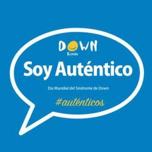 """Down España invita a que hoy las personas se hagan un selfie con la pegatina de """"Soy Auténtico"""" y lo suban a las redes sociales"""