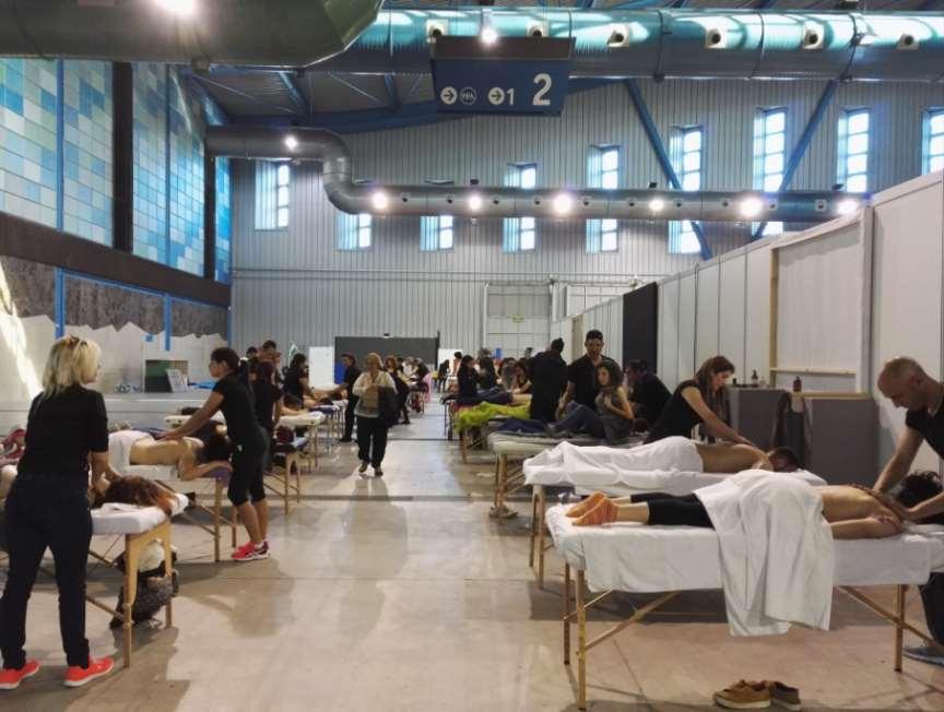 En la Feria Natura Málaga, los asistentes podrán recibir quiromasajes