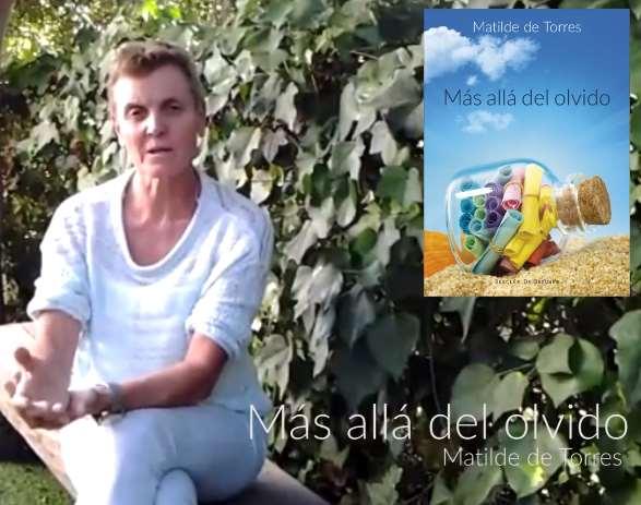 """El último libro escrito por Matilde de Torres Villagrá es """"Más allá del olvido"""""""