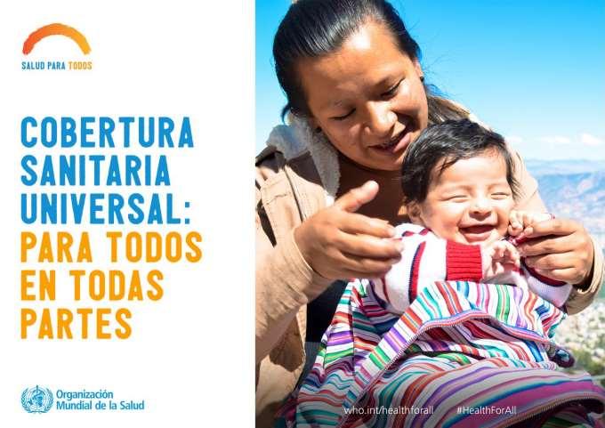 En elDía Mundial de la Salud la OMS pide a los líderes mundiales que se comprometan a adoptar medidas concretas para promover la salud de todas las personas