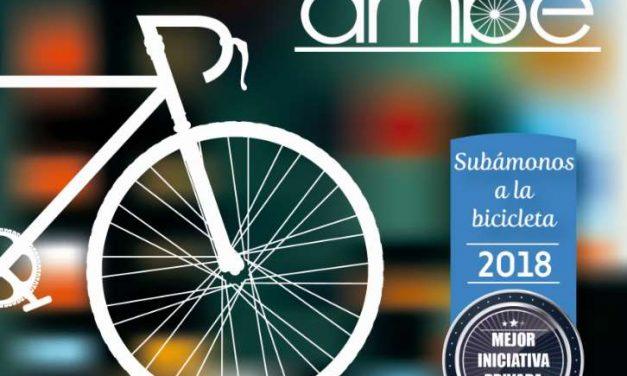 """AMBE abre la 2ª Edición de sus Premios """"Subámonos a la bicicleta"""""""