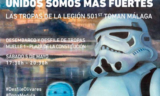 En mayo tendrá lugar un desfile de Star Wars en Málaga por una buena causa