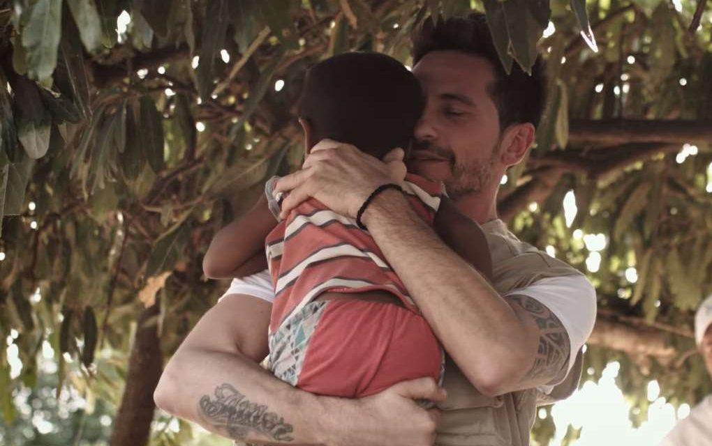 David DeMaría y Acción contra el Hambre presentan una campaña contra la desnutrición infantil