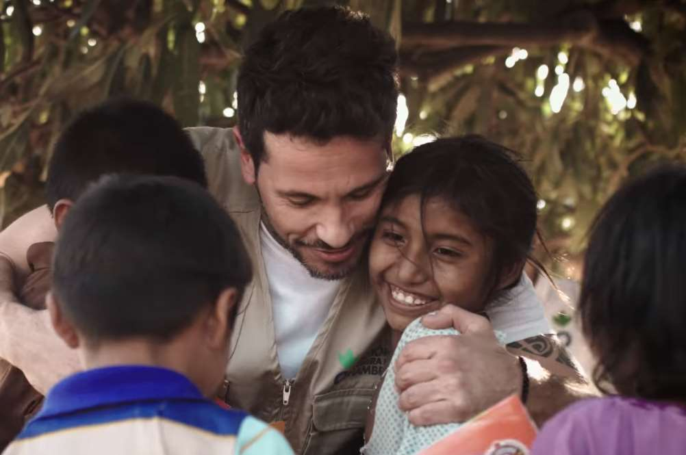 David DeMaría acaba de visitar los proyectos de Acción contra el Hambre en Guajira, una de las regiones con más desnutrición en Colombia