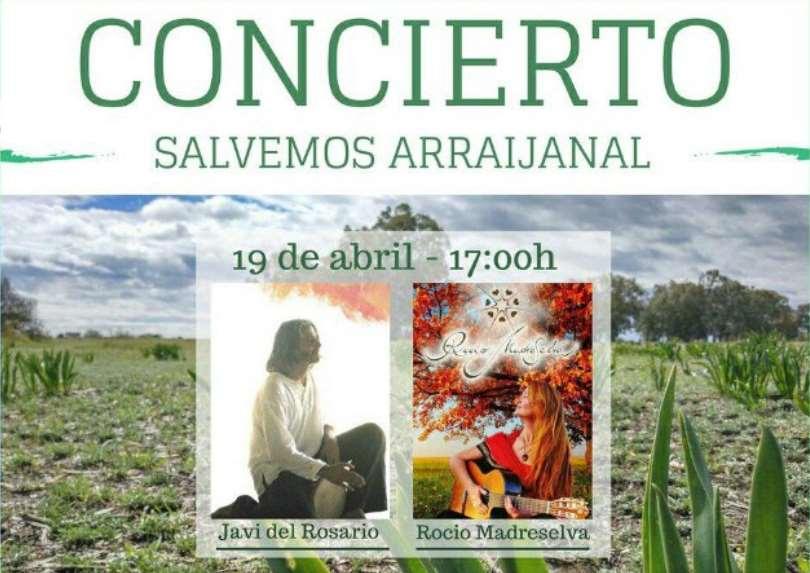 """Concierto """"Salvemos Arraijanal"""" 19 de abril en Málaga"""