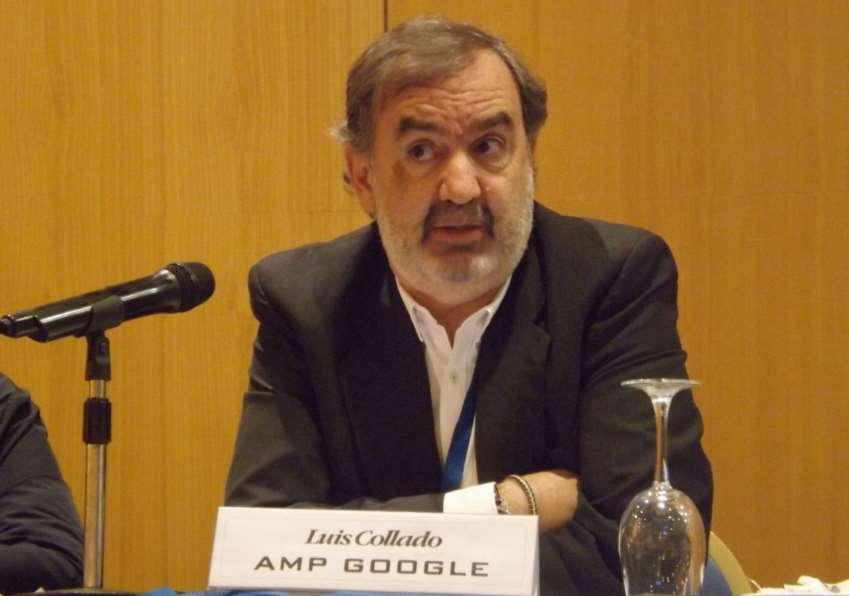 Luis Collado, de Google, ha presentado AMP Stories