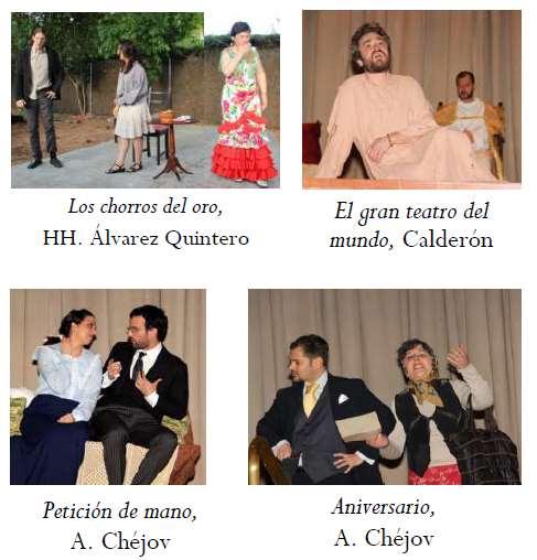 La Pequeña Compañía de la Fundación Maior nació en octubre de 2011 paraconocer y ofrecer a otrosel arte del teatro