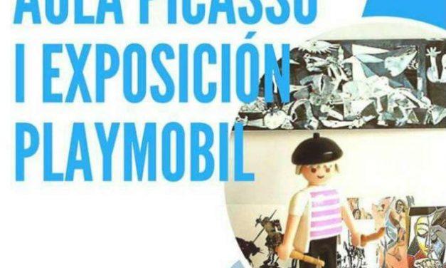 Exposición educativa de Clicks (Playmobil) en Málaga