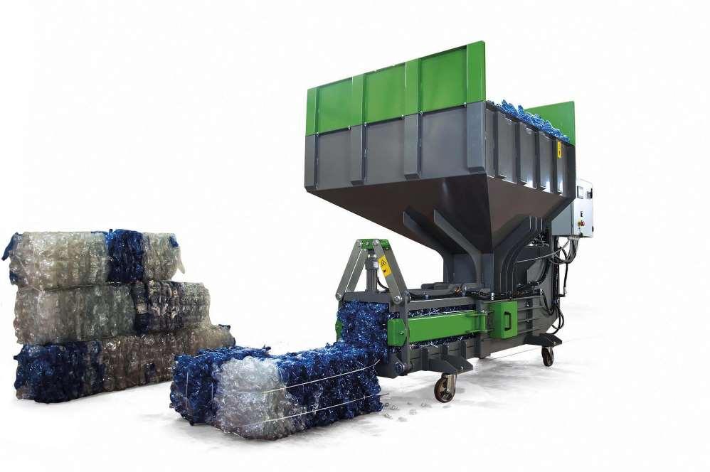 La maquinaria es un factor esencial en el proceso del reciclaje de plásticos
