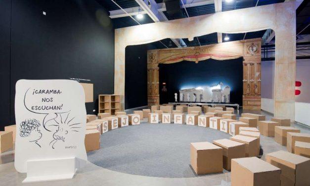 """Abierta en Almería la exposición """"Imaginar la Educación. 50 años con Frato"""""""