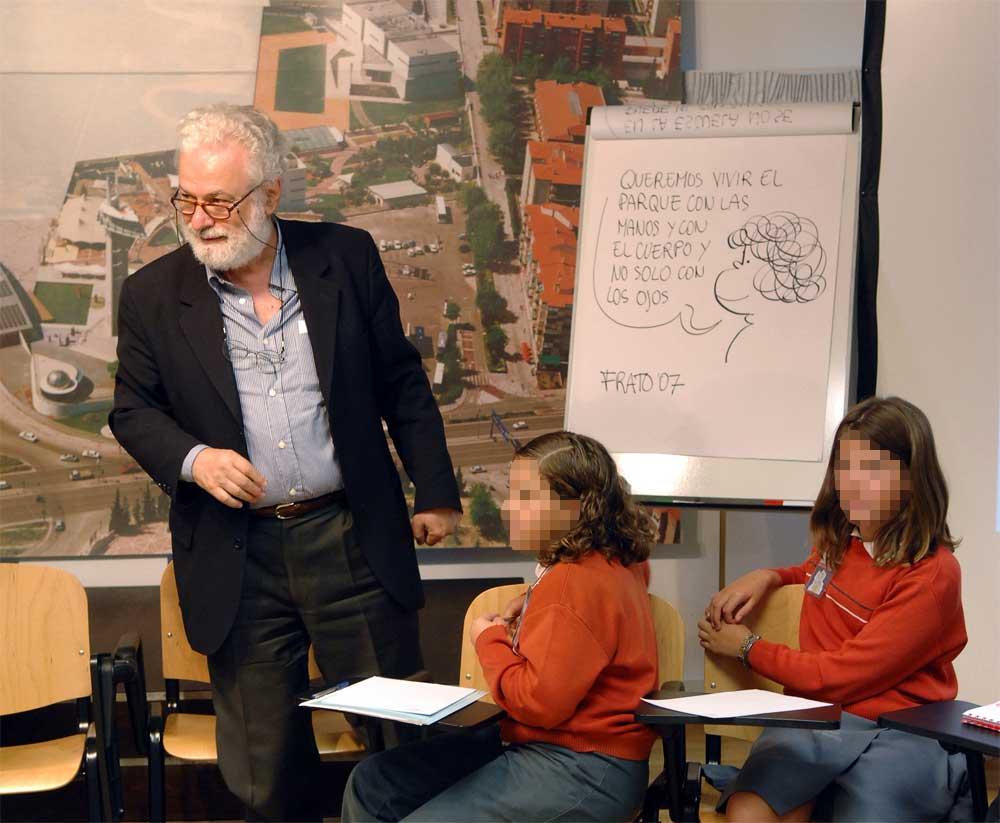 """La muestra """"Imaginar la Educación. 50 años con Frato"""" habla de pedagogía, de la infancia y sobre todo de la importancia social de los buenos profesionales de la educación"""