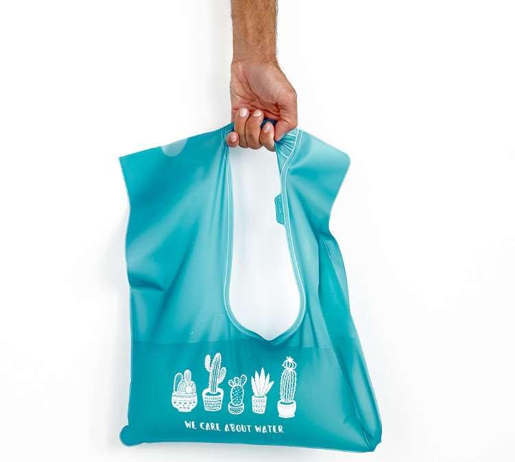 Waterdrop - Una bolsa que ahorra agua, evitando que malgastemos agua esperando a que salga caliente