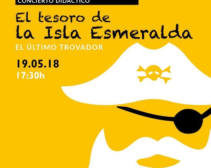 """""""El tesoro de la isla esmeralda"""" espectáculo musical para niños el 19 de mayo en Málaga"""