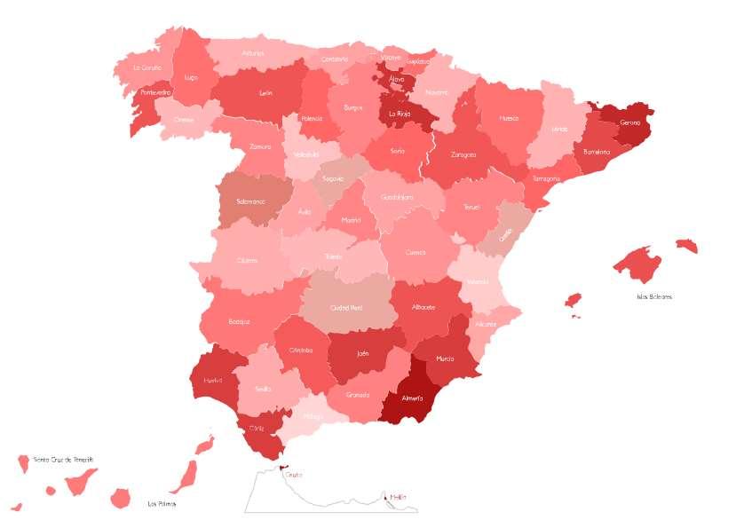 «Ni un hogar sin energía» ofrece un mapa interactivo de España que permite a cualquier persona encontrar iniciativas y subvenciones para enfrentarse a la pobreza energética en su zona