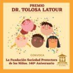 Abierta la convocatoria para el Premio Dr. Tolosa Latour a la labor de protección de la infancia y adolescencia