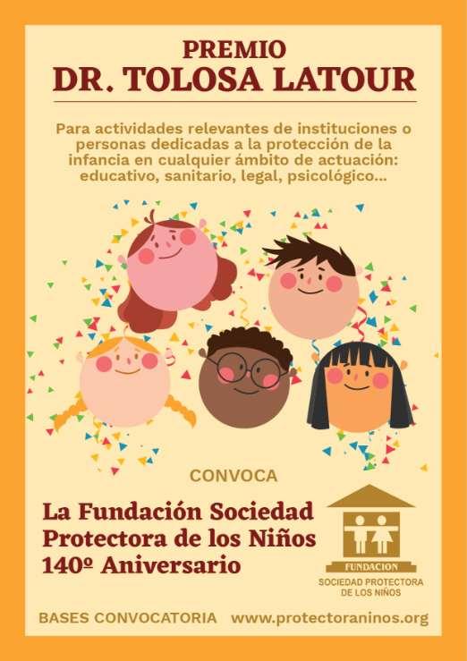 La Fundación pretende reconocer el esfuerzo que realizan estas personas o entidadesque dedican fundamentalmente su trabajo a la protección de la infancia más vulnerable y desfavorecida de la Comunidad de Madrid
