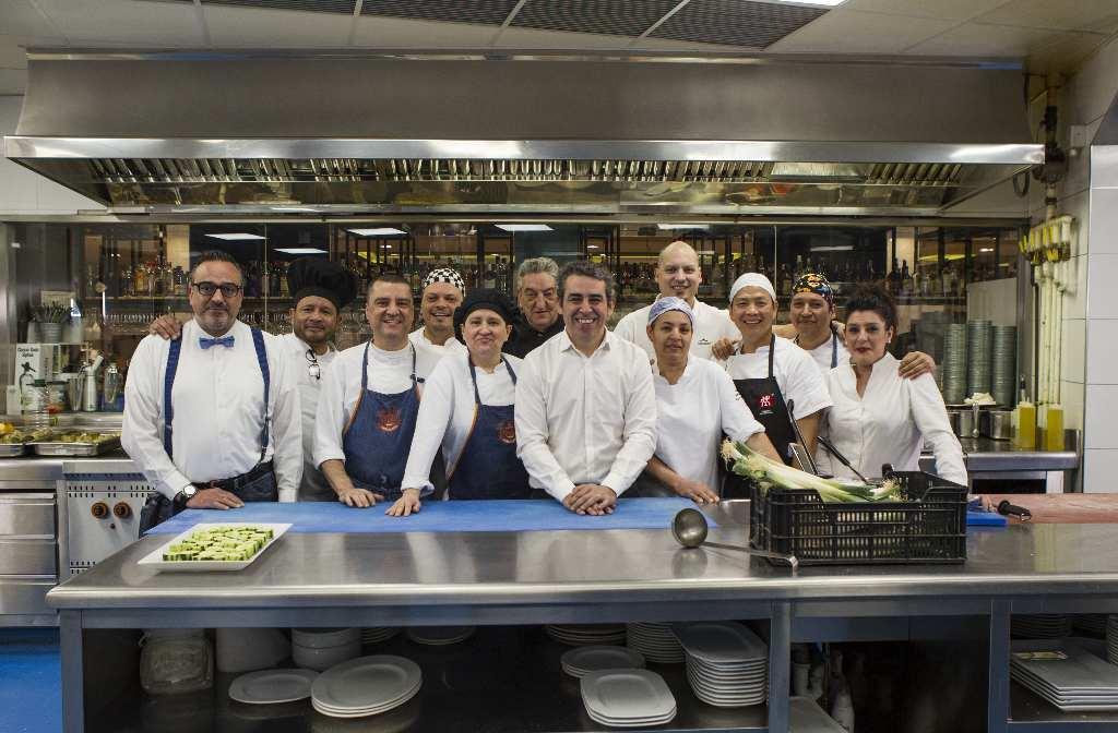 El restaurante Círculo Marisquería, uno de los miles de Restaurantes contra el Hambre que apoyan esta campaña