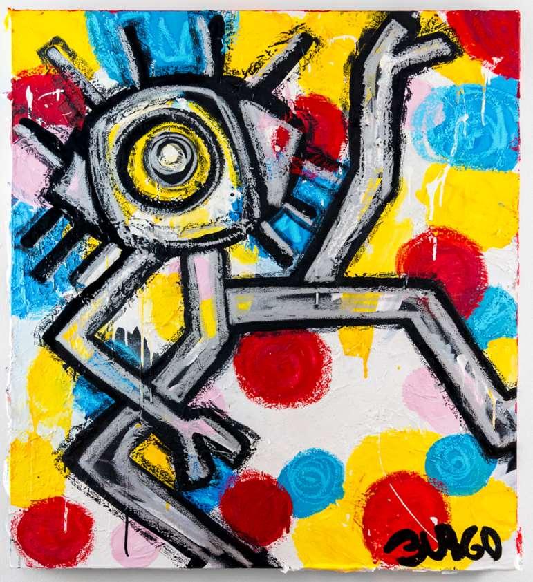En sus obras se expresa un estilo multicapa y enérgico