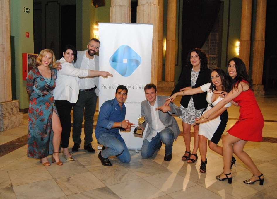 Impact Hub Málaga ganadora en los Premios Empresa Social de la Fundación Mundo Ciudad
