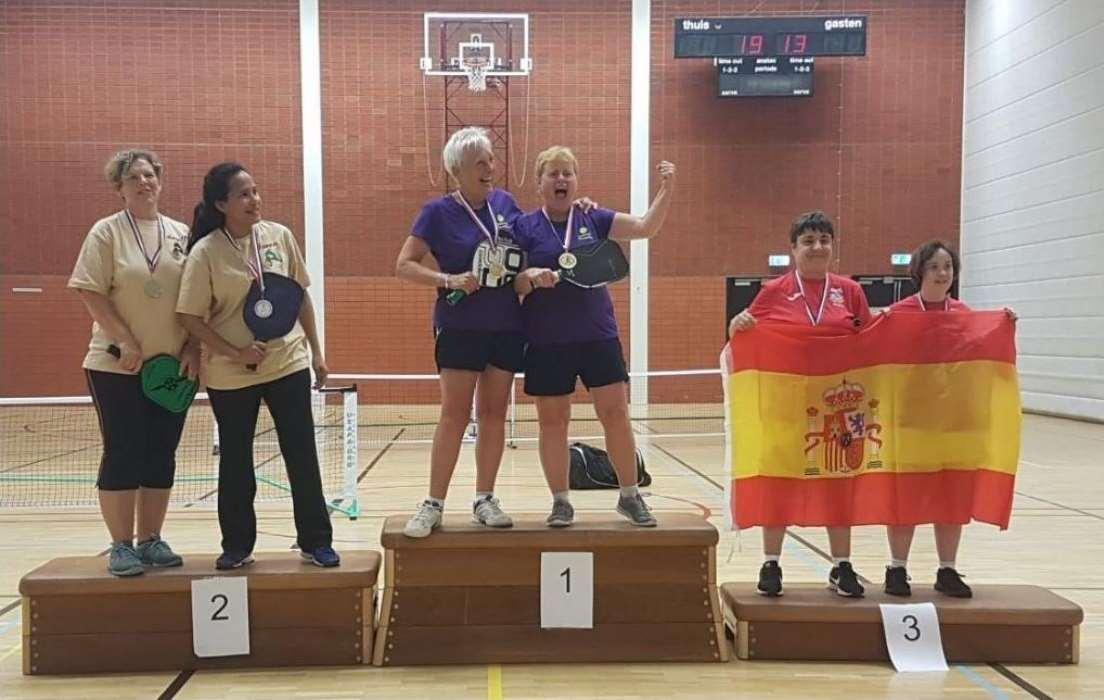 Deportista con síndrome de Down gana medalla de bronce en el III Torneo Internacional de Pickleball