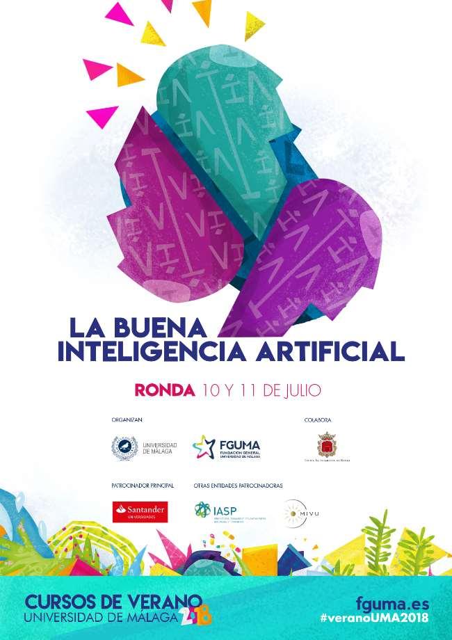 """Cartel del Encuentro de Especialistas """"La Buena Inteligencia Artificial"""""""