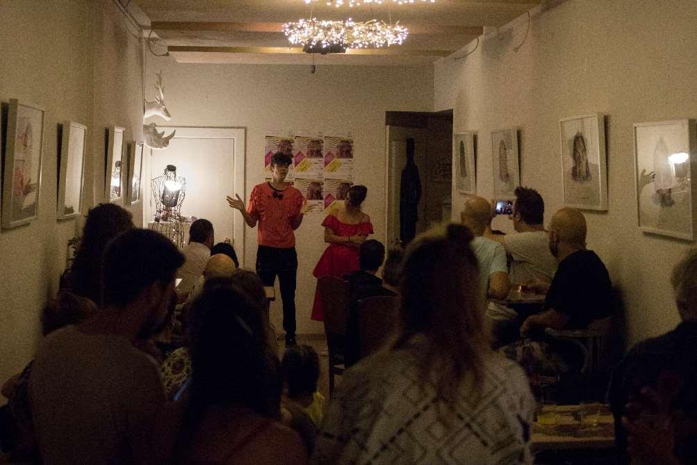 Fiesta de Presentación 1º edición del Festival de Arte Clandestino de Málaga (2017) en Kipfer&Lover