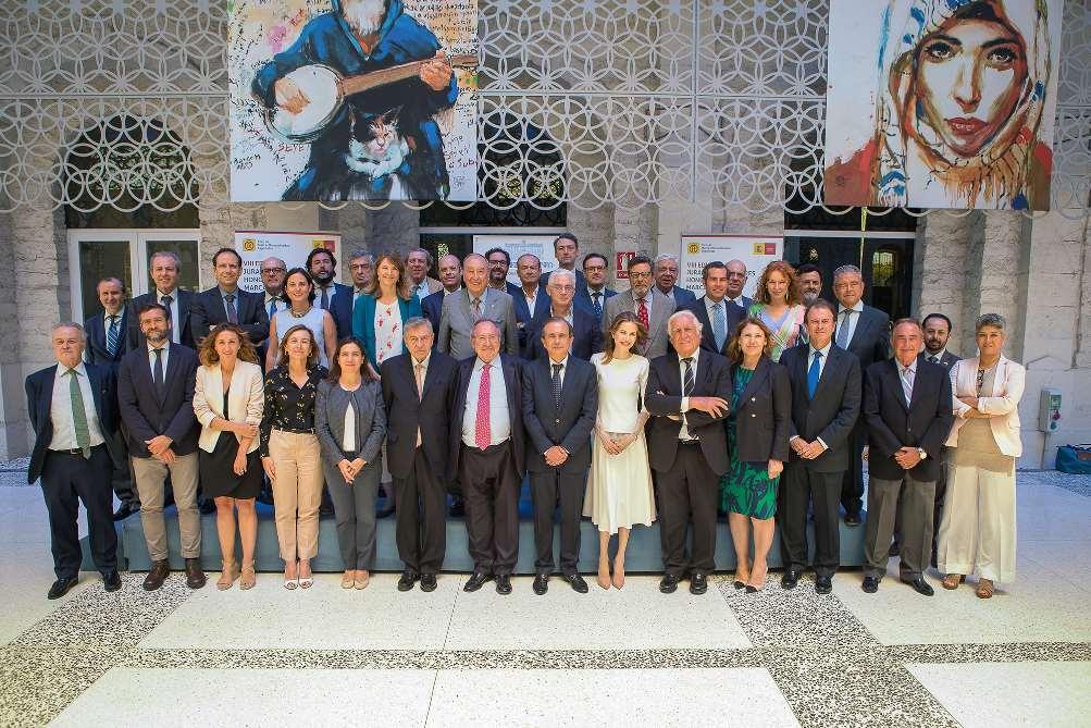 Foto del jurado de la VIII Edición de Embajadores Honorarios de la Marca España