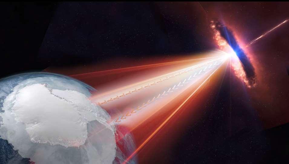 Se trata delblazar TXS 0506 + 056, situado en la constelación de Orióna unos 4.000 millones de años luz de nosotros