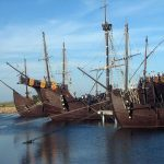 Visita virtual al puerto del que partió Cristóbal Colón con realidad aumentada