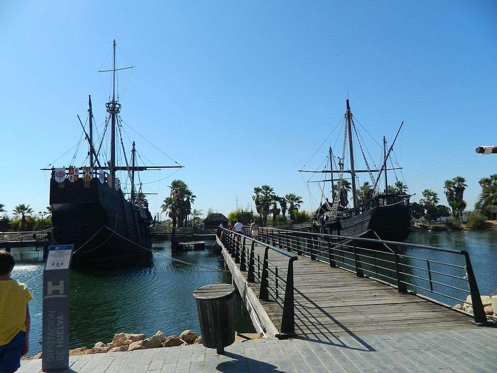 Puerto de Palos de la Frontera. Fotografía de Wikimedia Commons
