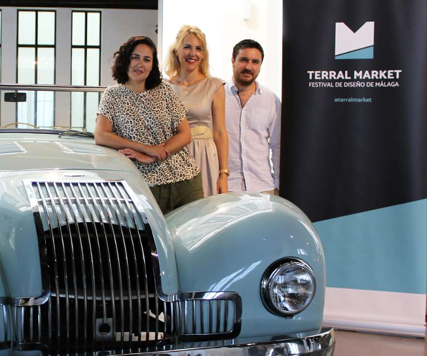 Ana Monreal, Patricia Rueda y Daniel Tellez. Terral Market 2018