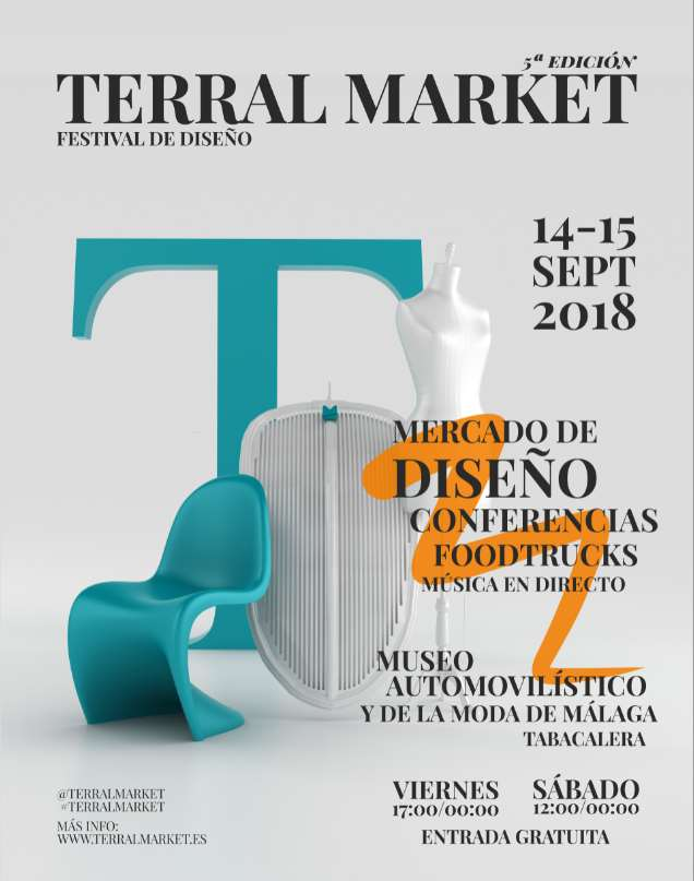 Cartel de Terral Market 2018