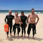 Swimming contra el Cáncer: reto de cuatro nadadores solidarios