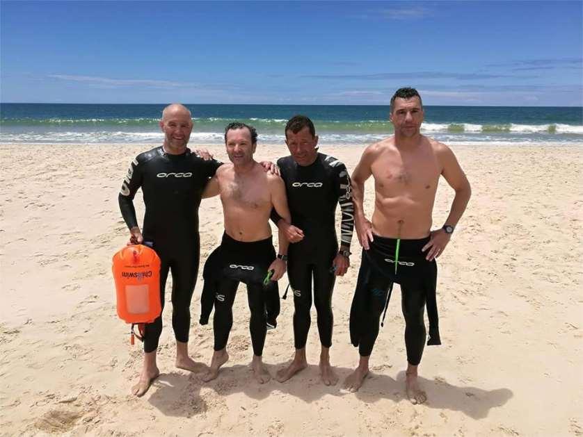El reto consistiráen realizar a nado la travesía de 32 km desde Matalascañas (Huelva) hasta Sanlúcar de Barrameda (Cádiz) y lo harán el próximo día 1 de septiembre de 2018