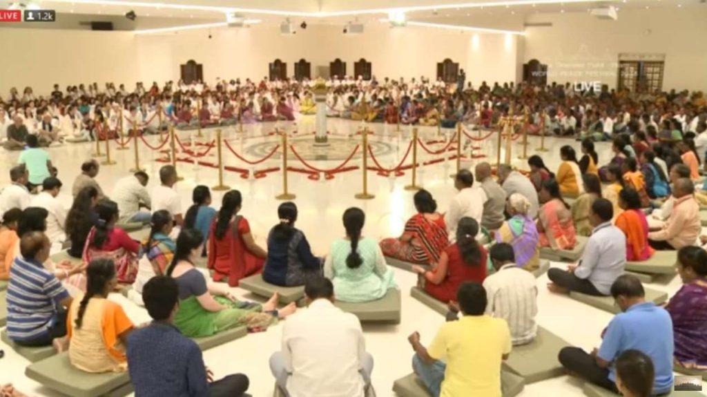 En estos días y hasta el 19 de agosto se está celebrando en la India elFestival de la Paz Mundial, un evento que organizan los denominadosCreadores de Paz Mundial Ekam, una fuerza global de personas con la visión de crear un mundo nuevo