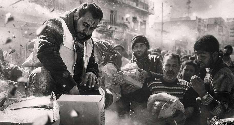 Día Mundial de la Asistencia Humanitaria. Foto © Nazeer Al-Khatib/Stringer. UN.