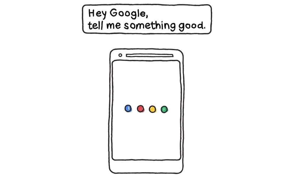 El asistente de Google te contará algo bueno