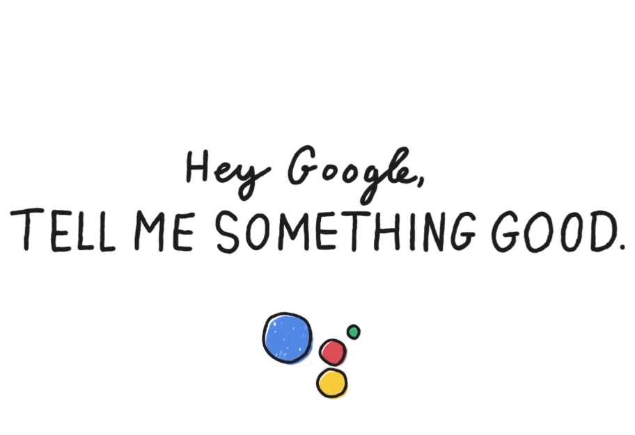 """Ahora, el Asistente de Google hará que este tipo de noticias sea más fácil de encontrar con""""Tell me something good"""" (""""Cuéntame algo bueno"""")"""