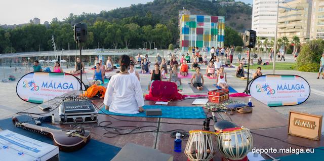 Yoga Deporte en Ferias Marrero