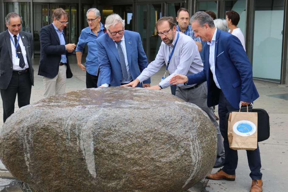 El Director de Ciencia de la ESA visita el Parque de las Ciencias de Granada