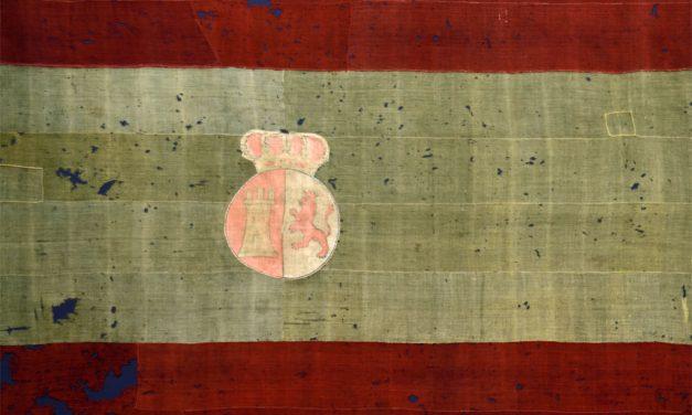El Museo Naval de Madrid expone el ejemplar más antiguo de bandera rojigualda que se conserva