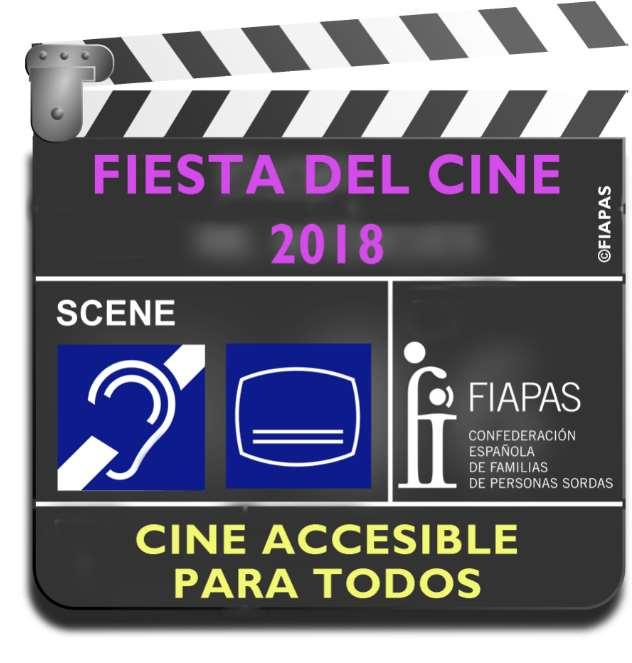 FIAPAS pide que la fiesta del cine sea también accesible para las personas sordas