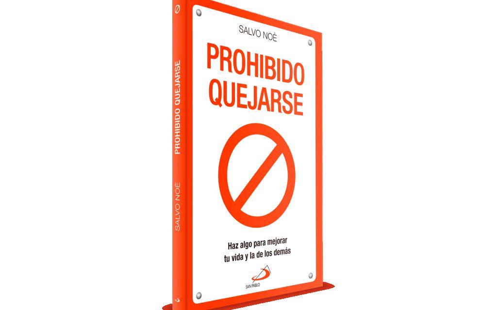 """Salvo Noè el escritor del libro """"Prohibido quejarse"""" visita España"""