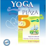 Yoga en la Plaza: practica yoga en la plaza de la Merced