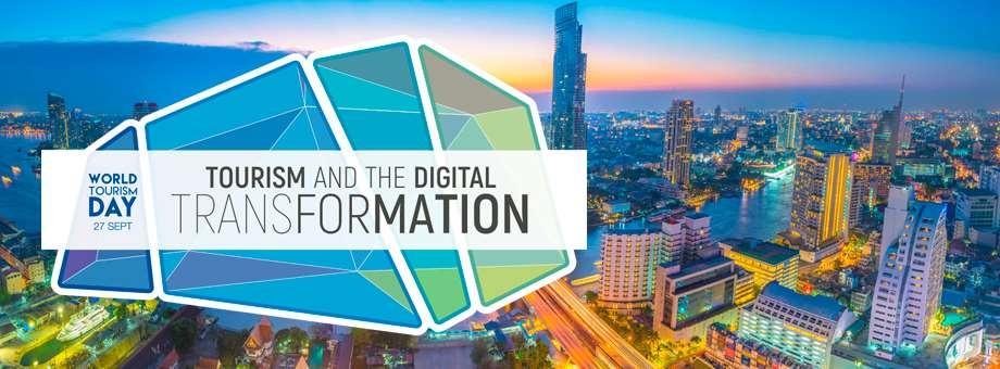 """Este año el lema del Día Mundial del Turismo es """"Turismo y Transformación Digital"""", las tecnologías digitales pueden contribuir al desarrollo del turismo sostenible."""