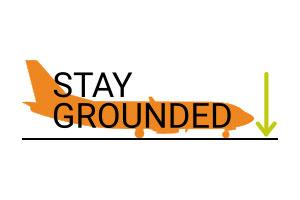Nace 'Stay Grounded' una red internacional contra la expansión del tráfico aéreo