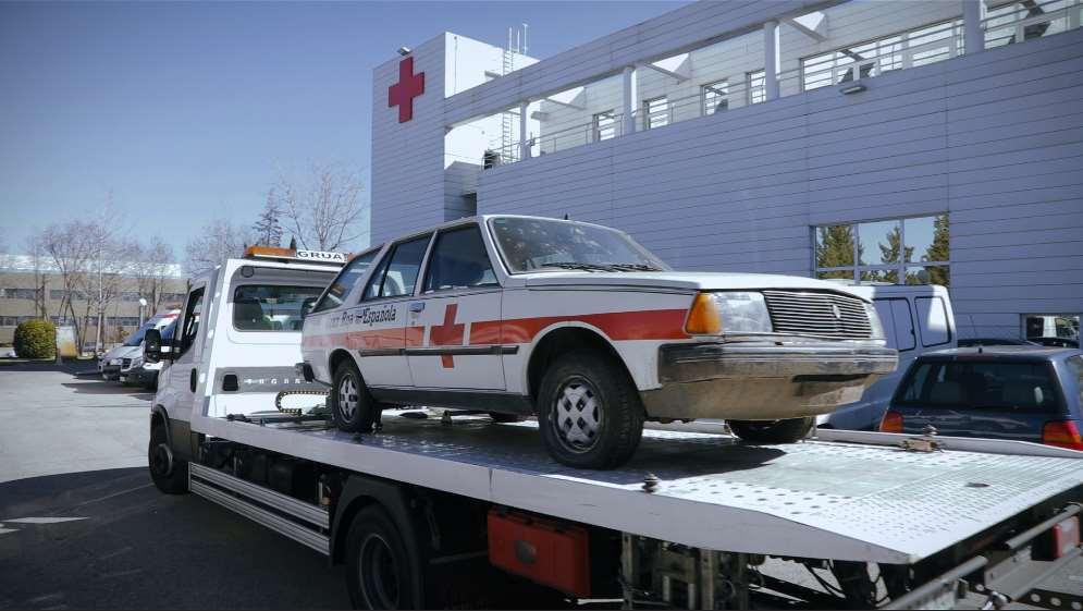 El Renault 18 se adquirió para que fuese utilizado como coche de mando de la Brigada de Socorro de Madrid