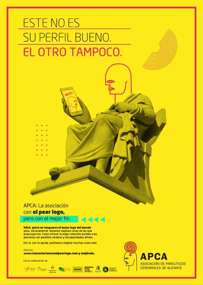 """En www.laasociacionconelpeorlogo.com, animan a descargar """"el peor logo del mundo"""" para ayudar a que estas personas puedan disponer de más y mejores servicios, mejorar su calidad de vida."""